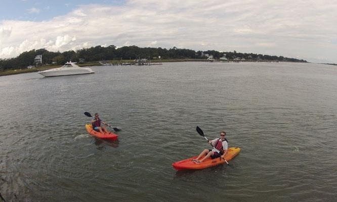 Single Kayak Rental in Wrightsville Beach