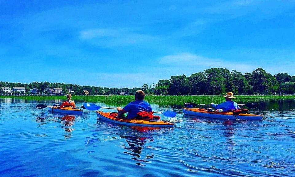 Single Kayak Rental in Oak Island