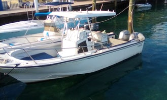 24' Boston Whaler Center Console for 10 People in Nassau