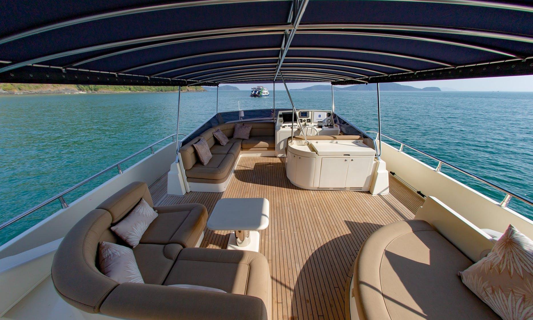 Motor Yacht rental in Chalong