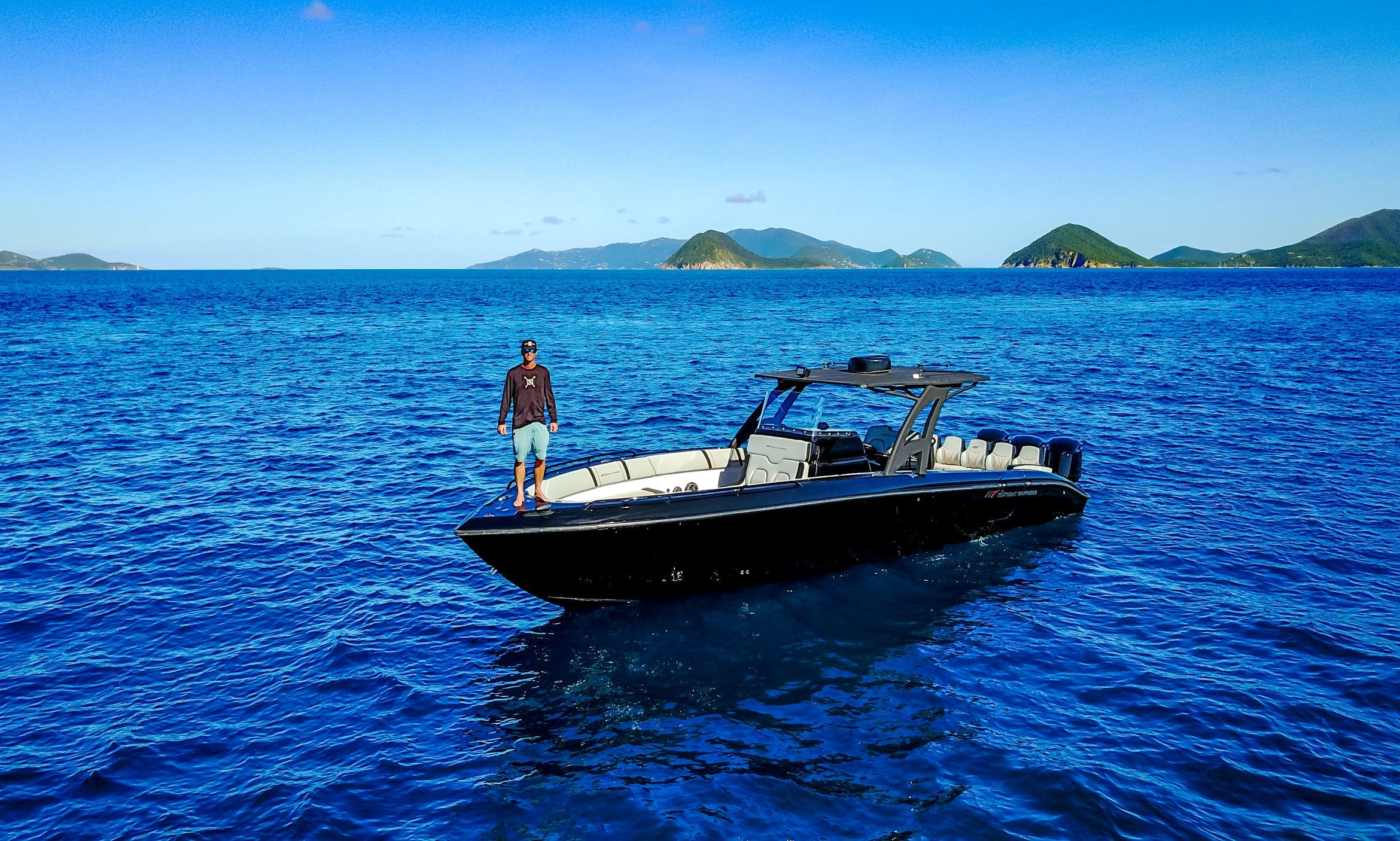 Charter A 37ft Open Midnight Express in St. Thomas, US Virgin Islands