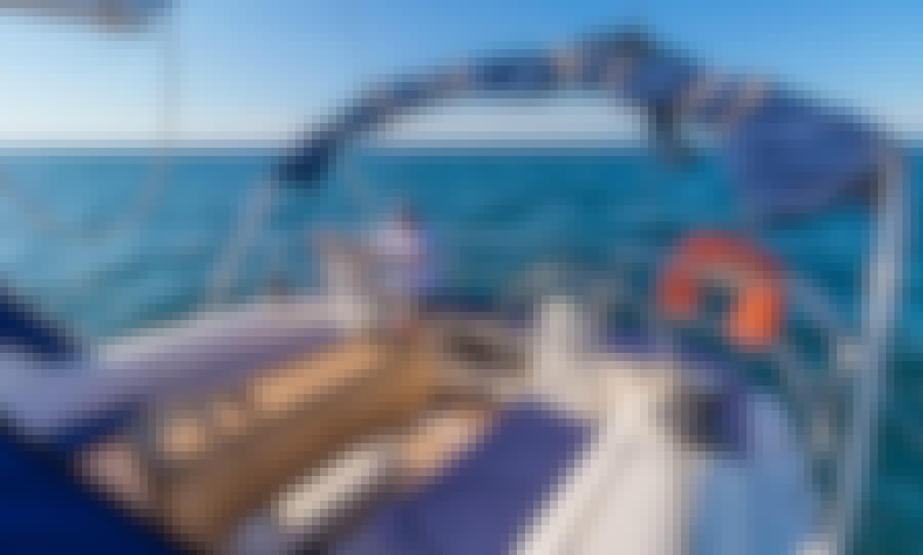 Dufour 45' Sailing Yacht Charter on Baja California Sur Coast