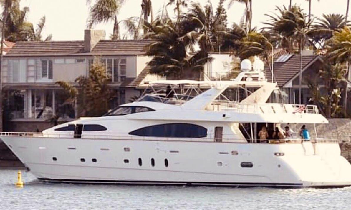 Mega Yacht rental in Newport Beach