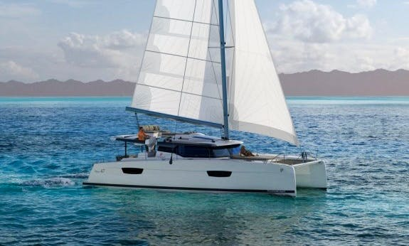 Charter the Brandnew Saona 47 With Watermaker and A/C-Plus in Cienfuegos