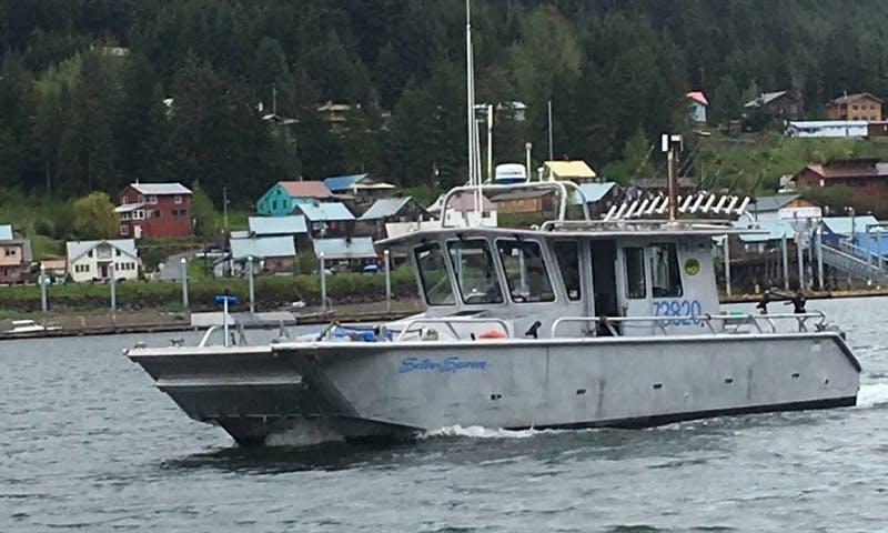 Halibut Fishing Icy Strait Point Hoonah Alaska