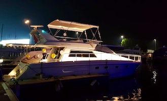 A Romantic Motor Yacht Rental in Abu Dhabi, UAE