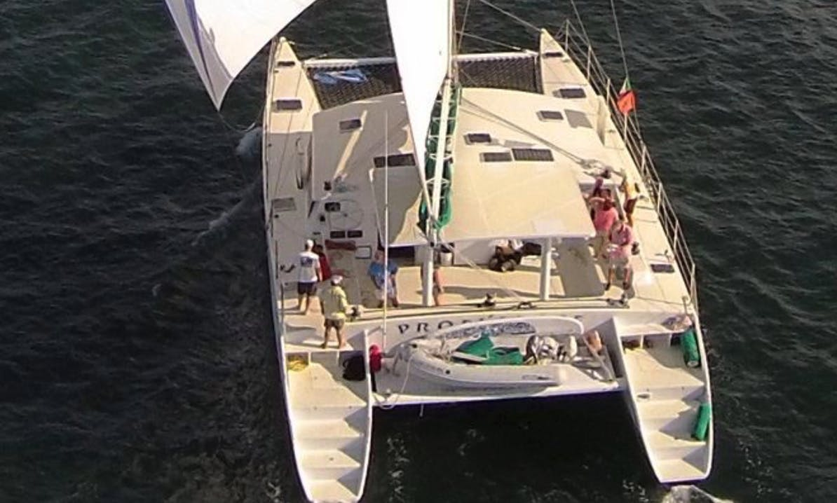 Huge Cruising Catamaran Day Charter in the Puerto Vallarta Area