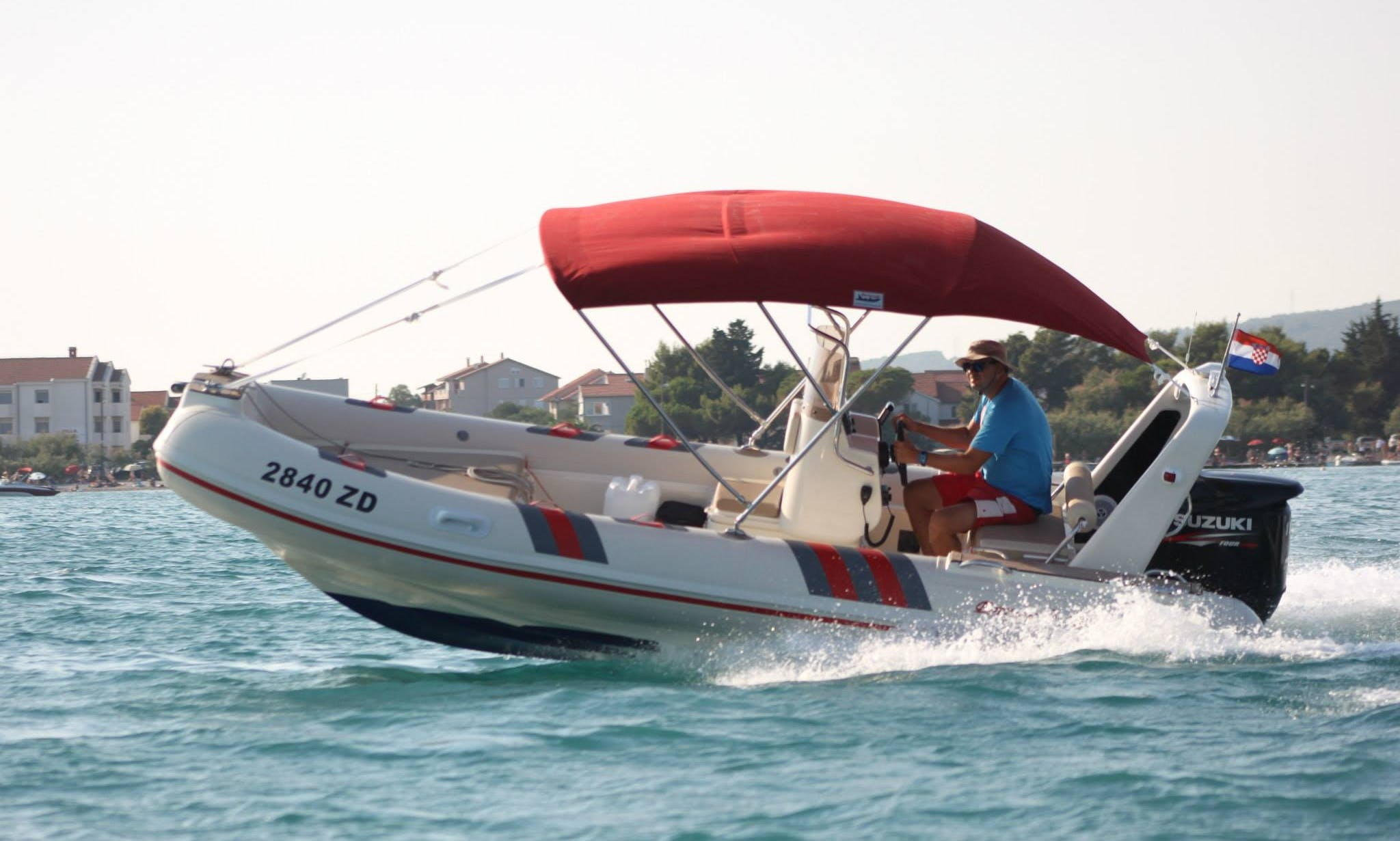 Barracuda 530 Inflatable Boat for 8 in Sukosan, Zadar