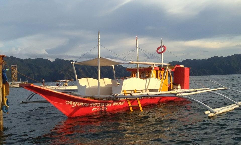 Sightseeing tour in Coron