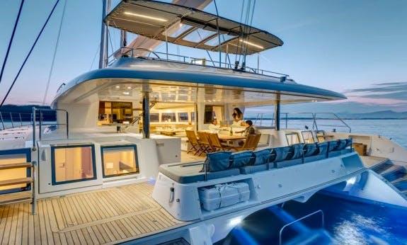 Crewed Charter - Lagoon 620 Sailing Catamaran in Cienfuegos
