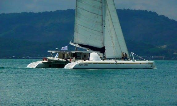 Nautitech 82 Crewed Cruising Catamaran rental in Cienfuegos