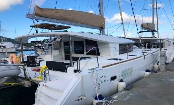 2016 Lagoon 400 S2 with A/C Cruising Catamaran in Marigot, St. Martin
