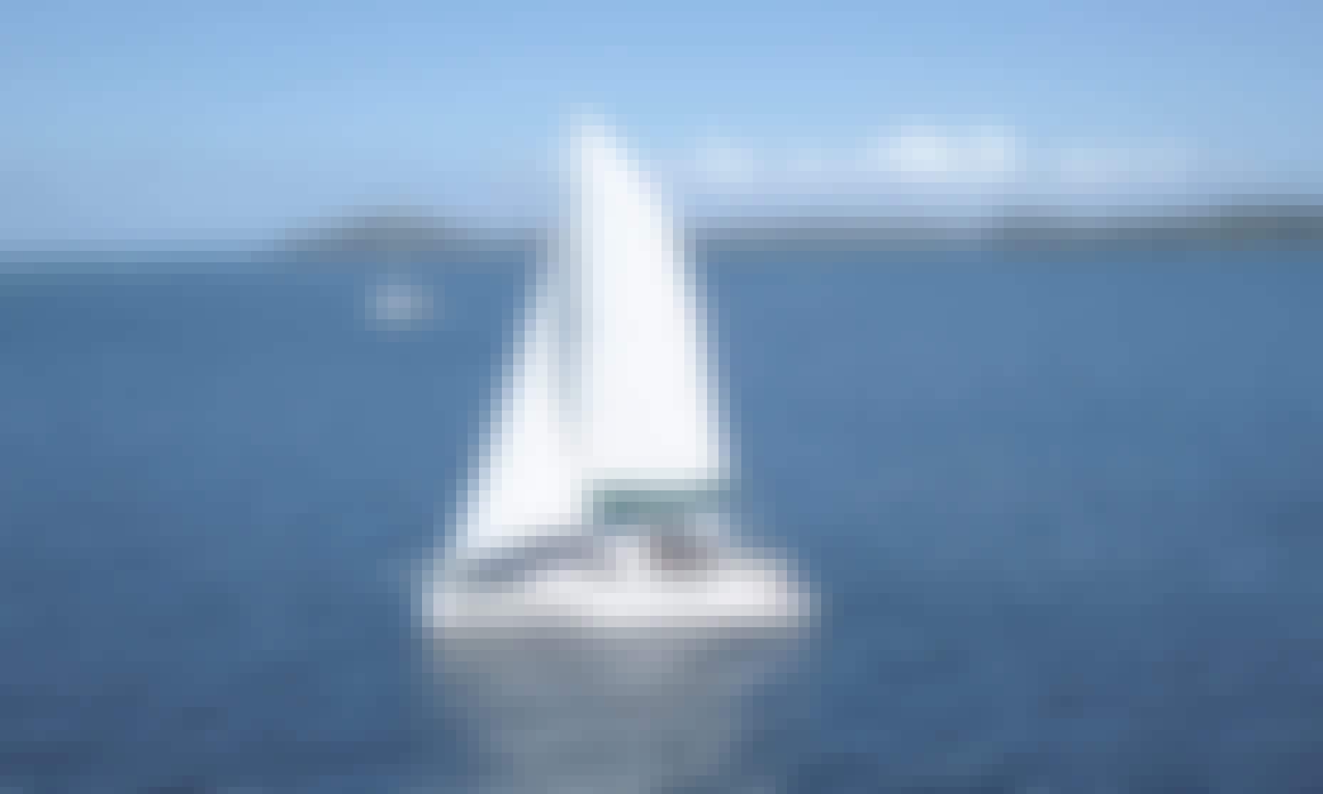 """Charter the 42ft """"Jager Knights""""  Private Catamaran in Bocas del Toro, Panama"""