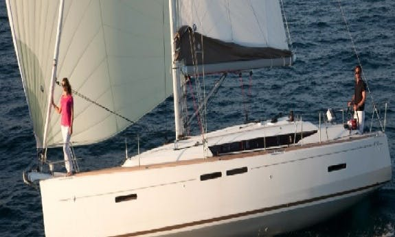 Brandnew Sun Odyssey 419 Sailing Yacht in Marigot, St. Martin