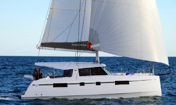 Nautitech 46 Open Gorgeous Catamaran in Marigot