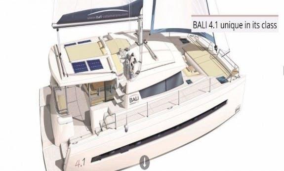 2019 Bali 4.1 Cruising Catamaran For Rental In British Virgin Islands
