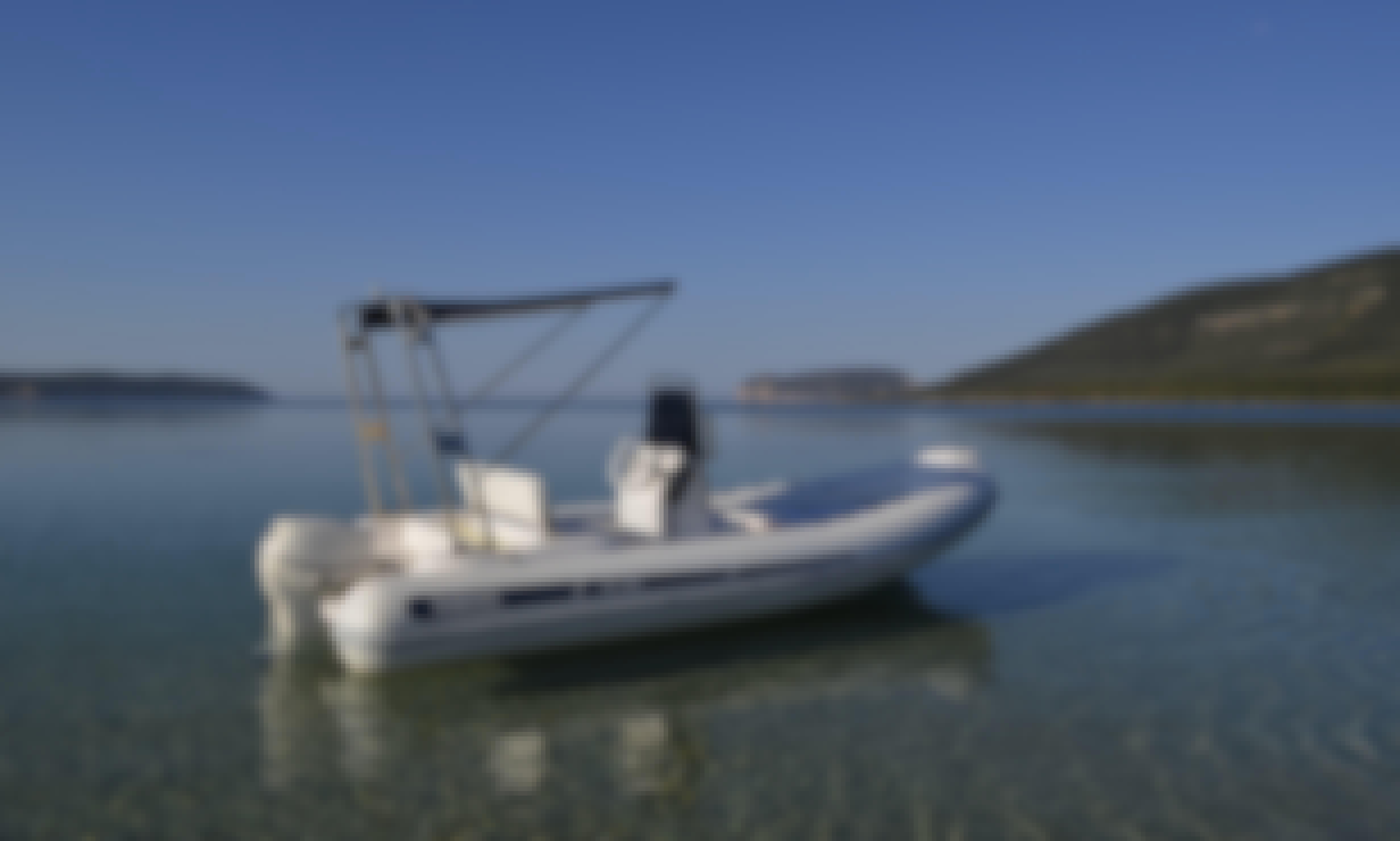Sea Power 5,50 GT Rib Rental in Alghero, Italy
