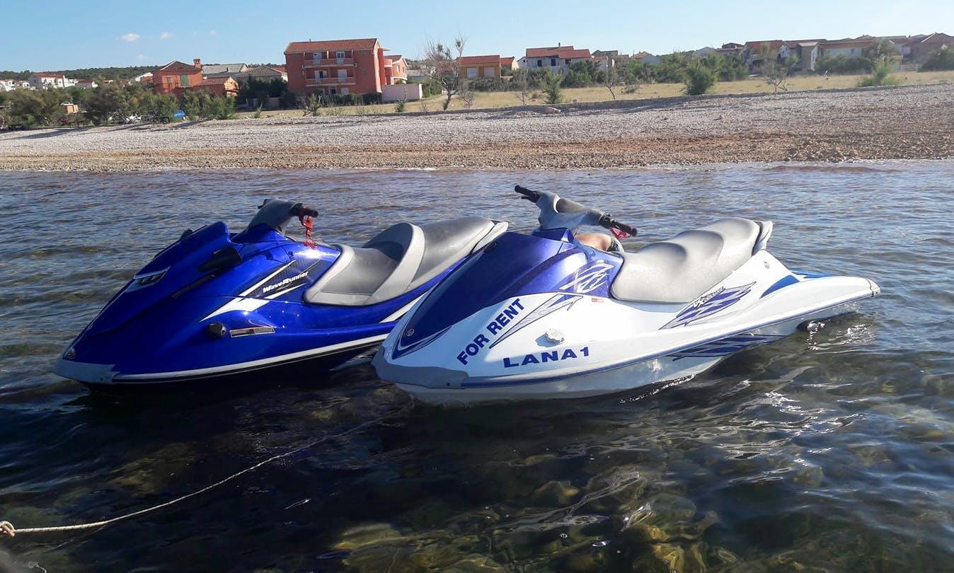 Jet Ski Rental for 2 People in Ražanac, Croatia