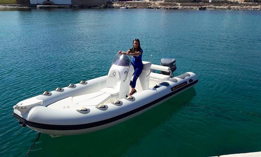 Inflatable Bura 7.0 Speedboat in Ražanac, Croatia