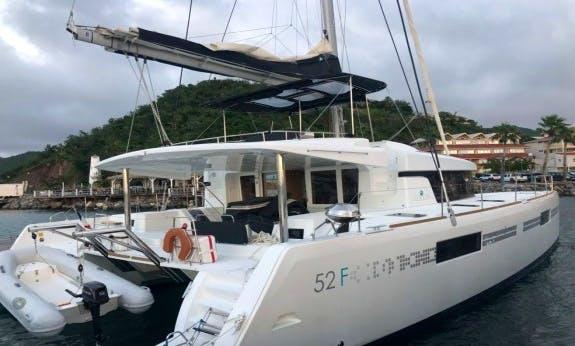 Lagoon 52 F Catamaran with Watermaker in Marigot