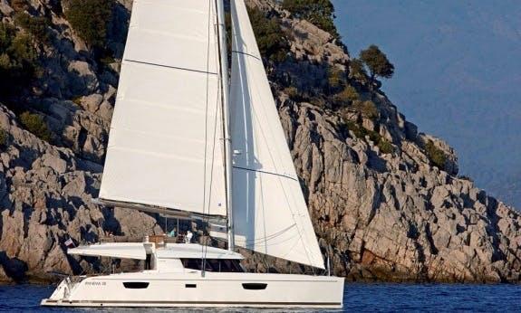 Ipanema 58 Crewed Catamaran for Charter in Marigot, St. Martin