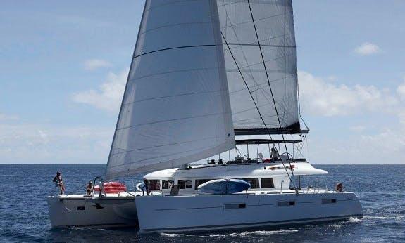 Crewed Charter on Lagoon 620 Cruising Catamaran in Marigot, St. Martin