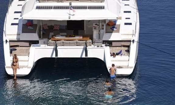 Crewed Ipanema 58 Luxury Cruising Catamaran in Marigot, St. Martin