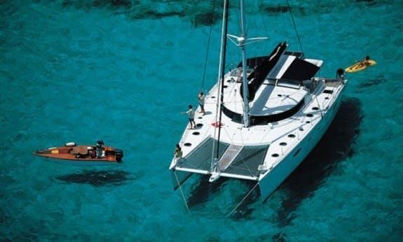 Eleuthera 60 Sailing Catamaran - Crewed Charter in Malé