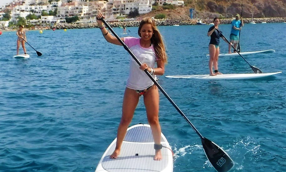 Stand Up Paddleboard Tour in San José, Spain