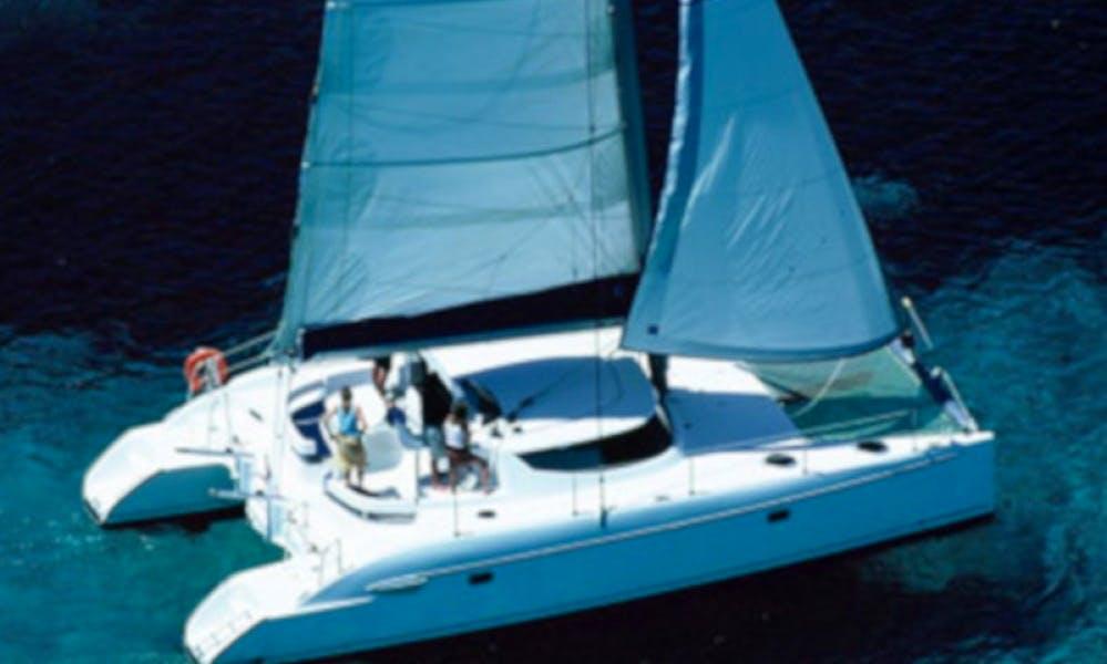 Lavezzi 40 Sailing Catamaran in Madagascar