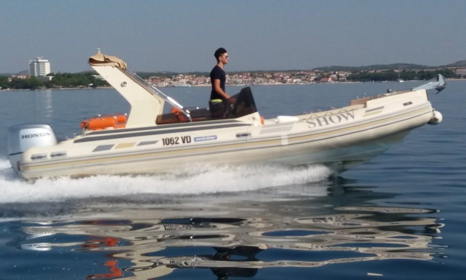 RIB Solemar 22 rental in Medulin