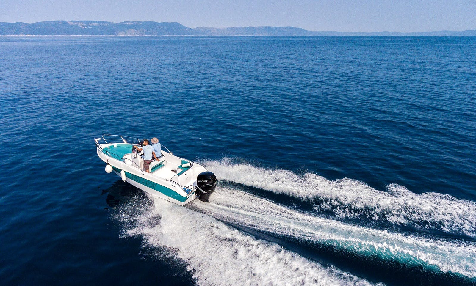 21ft Bluline Open Boat in Pula, Istria, Croatia