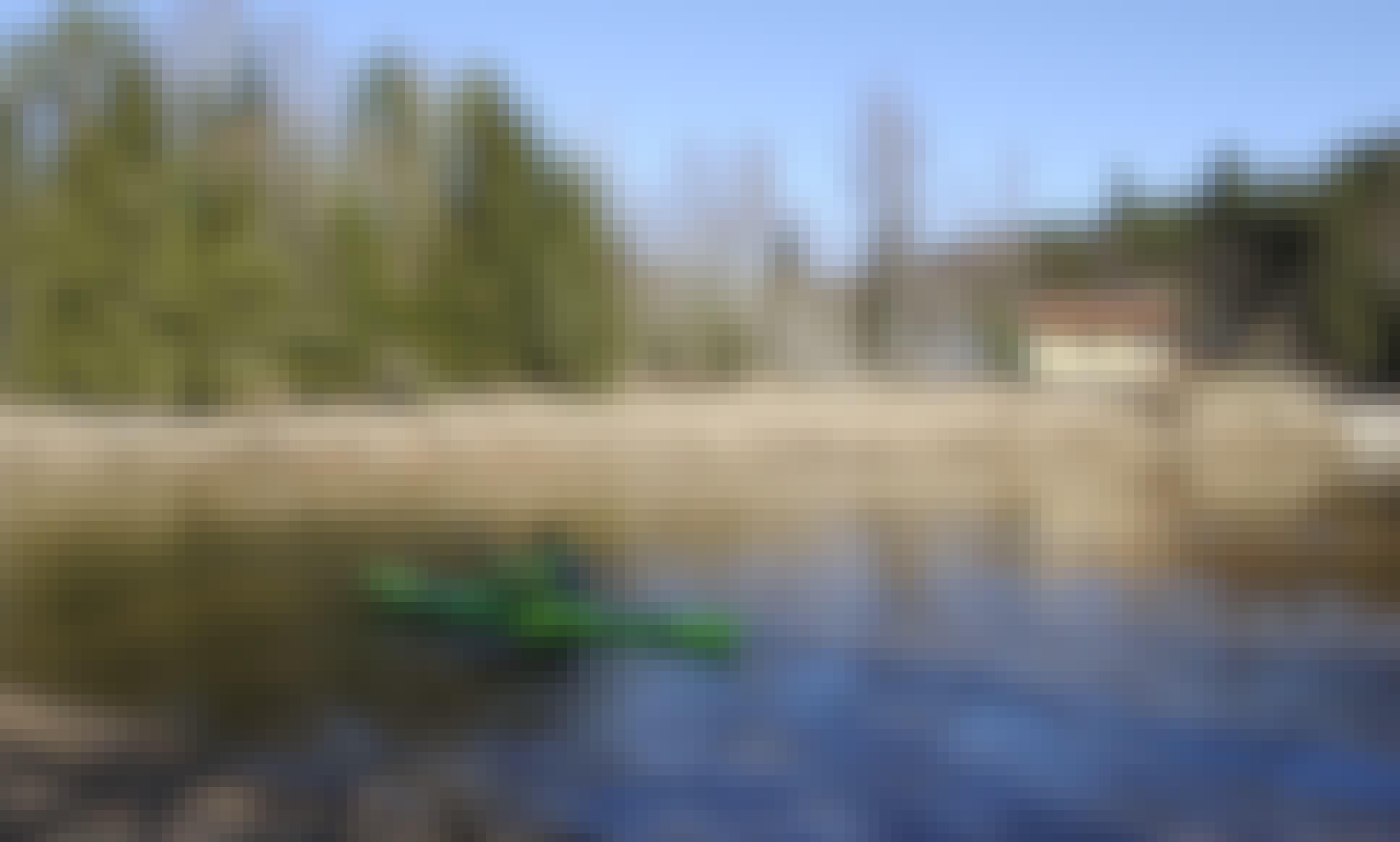 Kayak Dag tiwok EVO, Kayak and Canoe rental Laivuire.lv