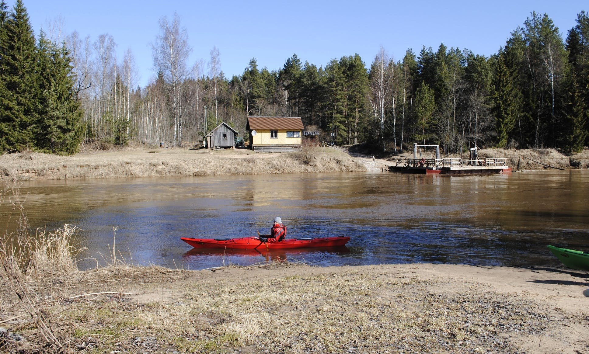 Kayak Dag tiwok EVO, Kayak and Canoe rental Laivuire.lv