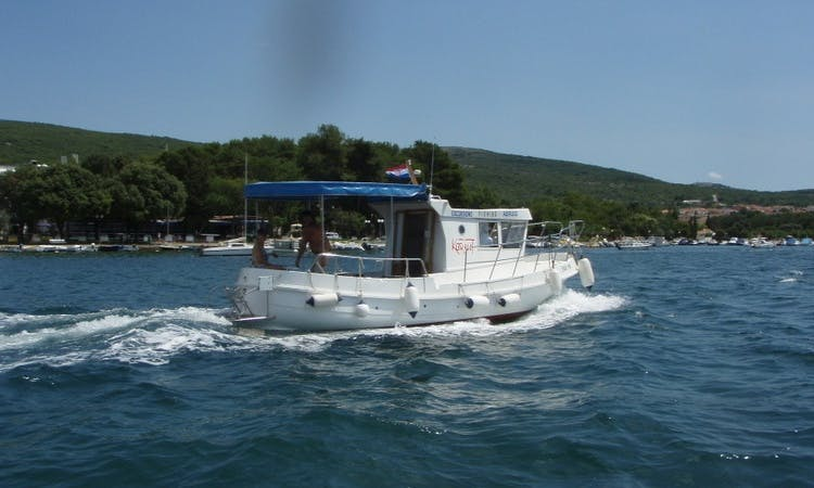 Water Taxi Rental in Punat, Croatia