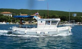 Water Taxi Rental in Punat, Croatia