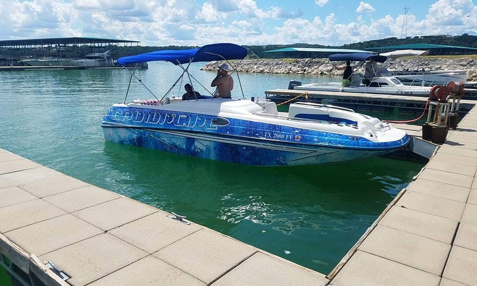 Deck Boat rental in Lake Travis