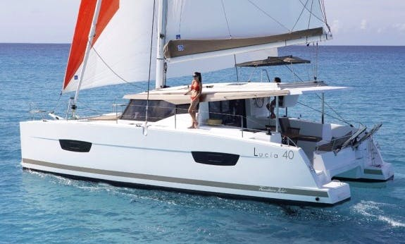 Venture the Sea aboard Lucia 40 Catamaran with Watermaker in Langkawi