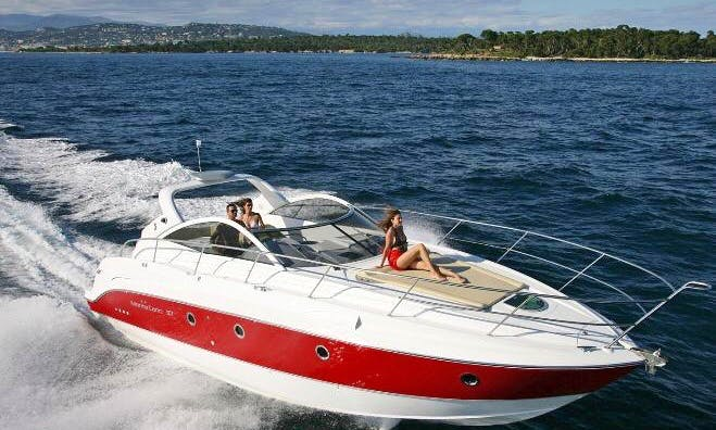 Rent the Beneteau Montecarlo 37 Motor Yacht In Barcelona, Spain