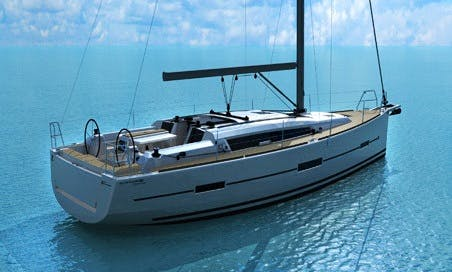Dufour 412 Gl Liberty for 8 People in Pozzuoli, Naples