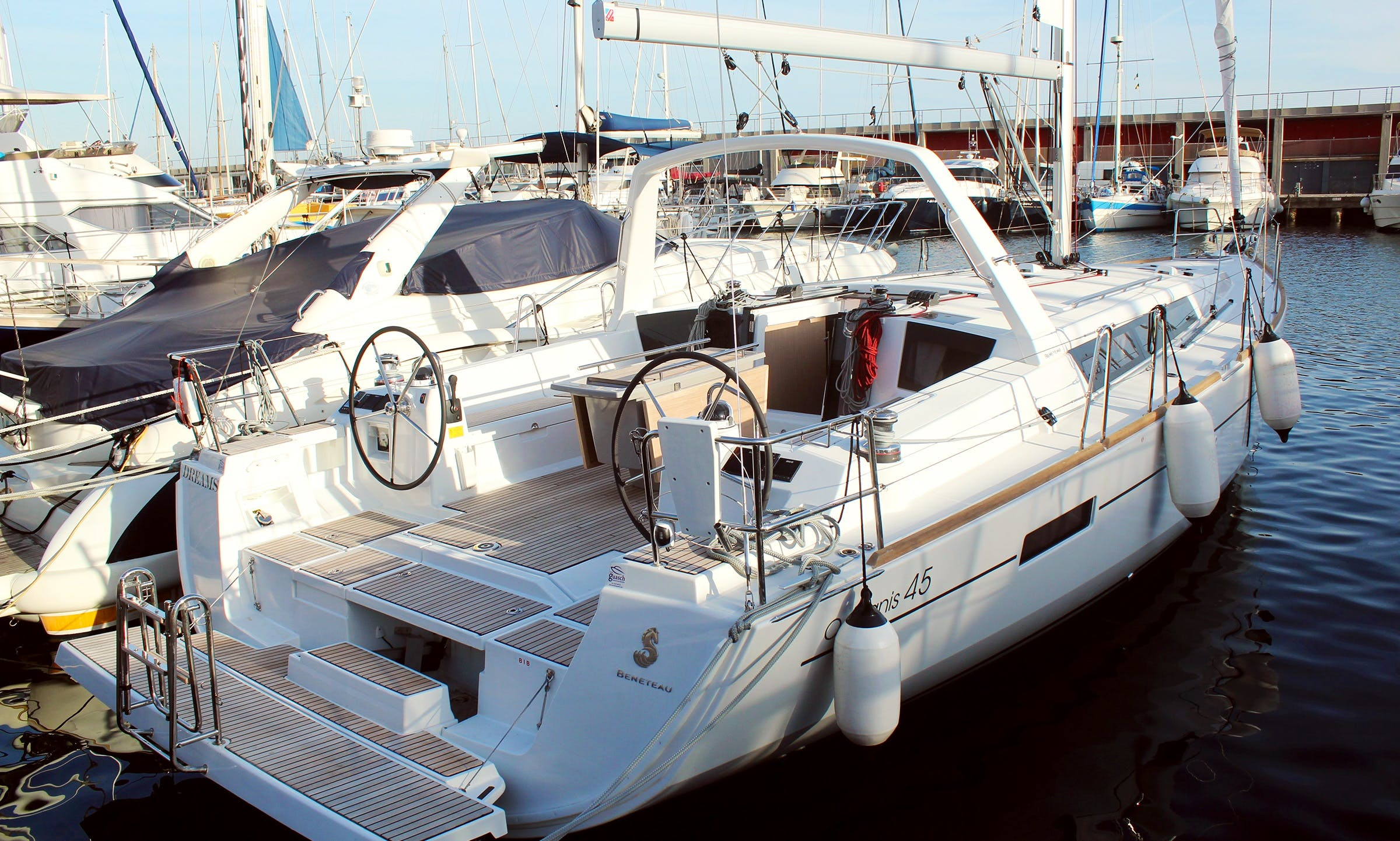 Rent the Oceanis 45 in Barcelona for trips or other experiences