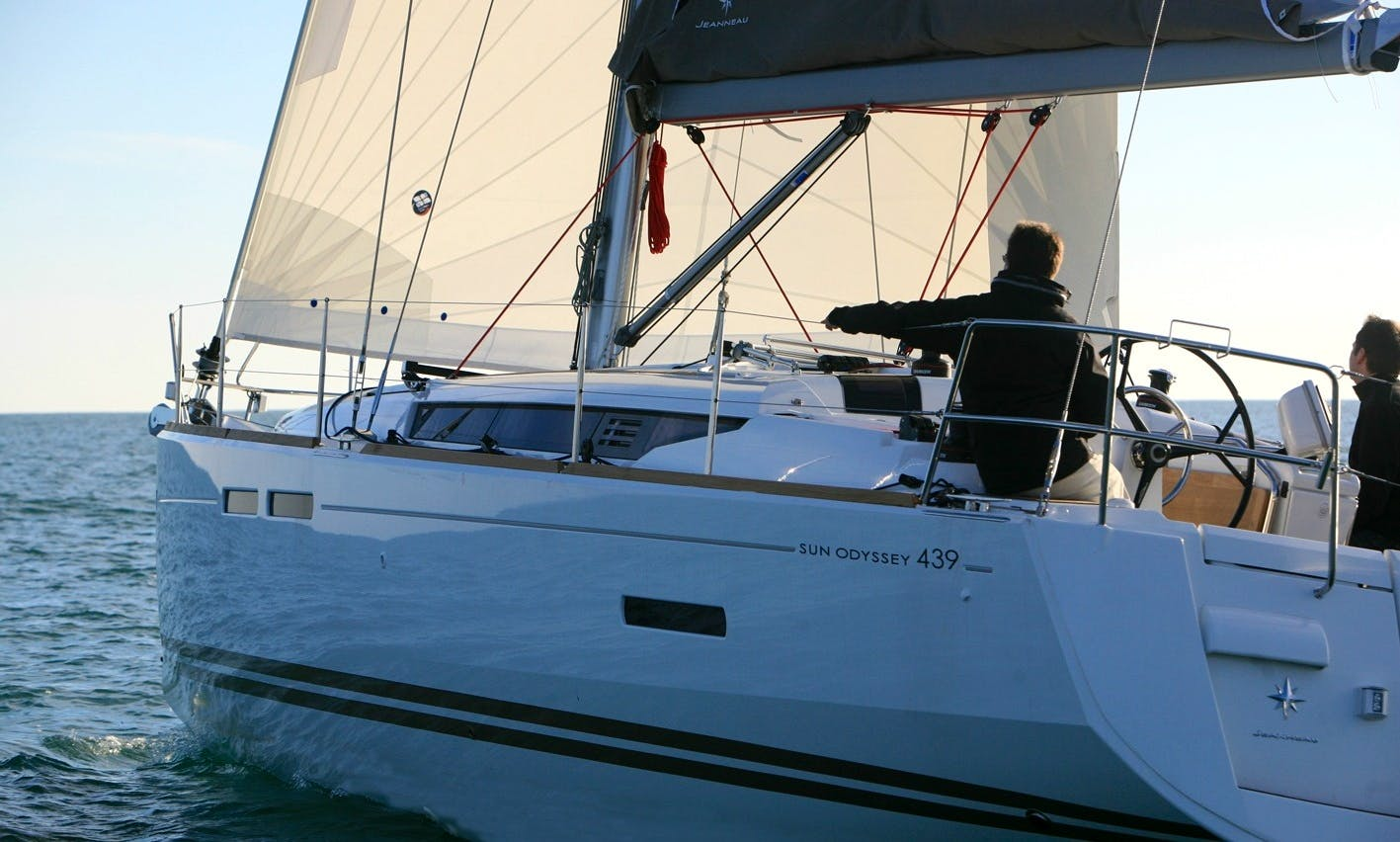 Experience Sun Odyssey 439 Sailing Yacht in Kotor, Montenegro