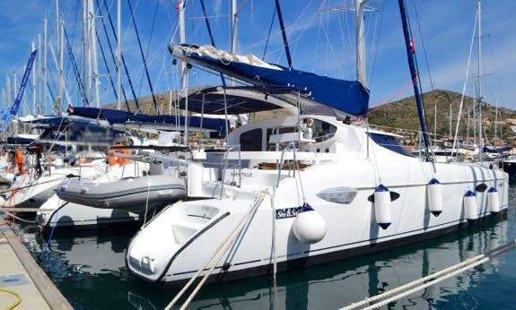Lavezzi 40 Cruising Catamaran in Kotor