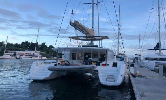Sailing Trip to British Virgin Islands On 2018 Lagoon 52 F Cruising Catamaran