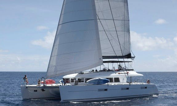 Enjoy The Relaxation Of A Crewed Sailing Charter In  British Virgin Islands