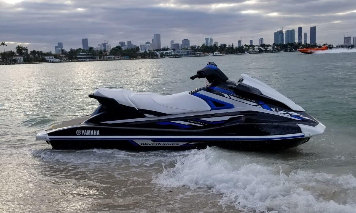 Yamaha Jet Ski rental in Miami for $80 an hour