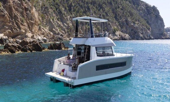 Explore La Paz, Mexico On 37' Motor Yacht!