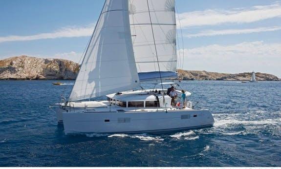 Charter The 40' Lagoon Cruising Catamaran in La Paz, Mexico
