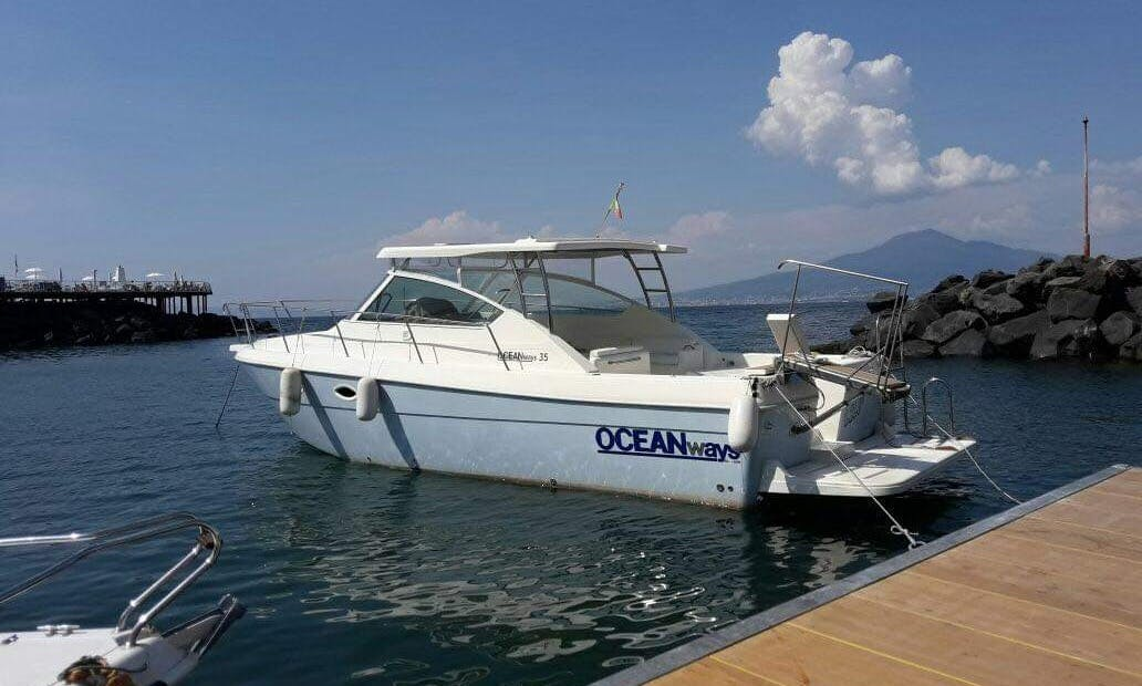Skippered Private Tours onboard Ocean Wave 35 Cruiser from Praiano