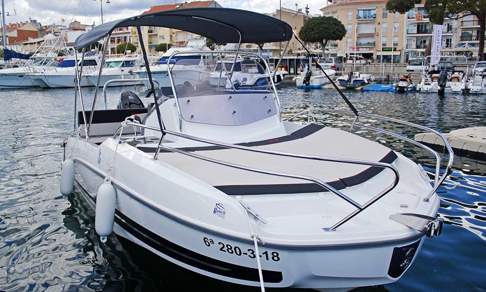 Rent 2019 Beneteau Flyer 5.5 Sundeck Boat in in Cambrils